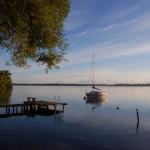 Blick auf den Schaalsee von der Zarrentiner Uferpromenade