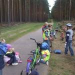 Junior Ranger auf Fahrradtour Foto: Marina Czepl