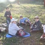 Junior Ranger beim Picknick Foto: Marina Czepl